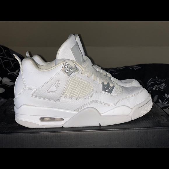 footwear high fashion hot product Jordan 4 pure money